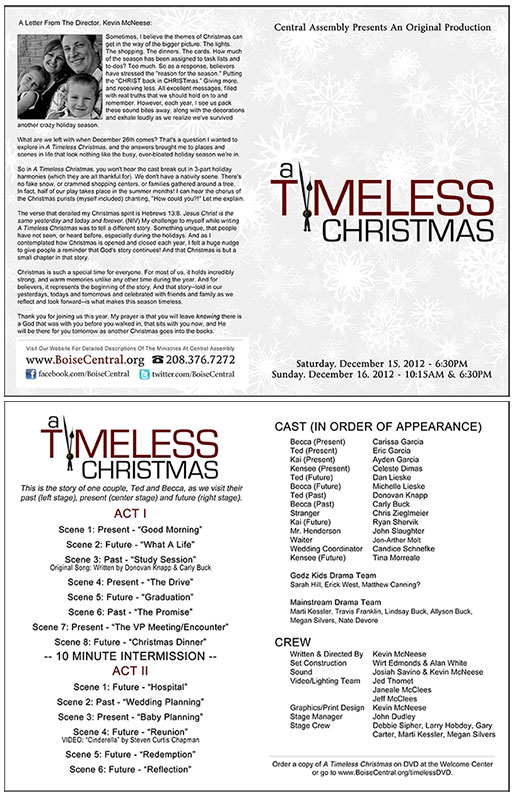 A Timeless Christmas | Marketing Tools